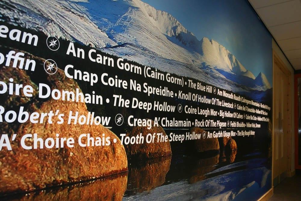 Glenmore Lodge Custom Printed Wallpaper