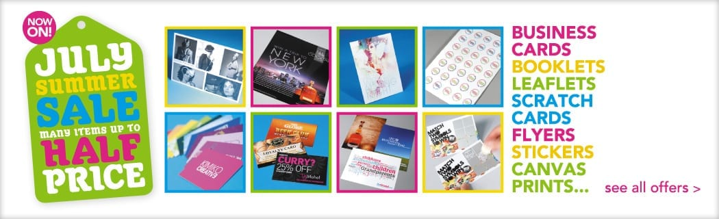 July Printing Offers