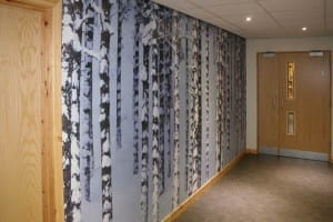Glenmore Lodge Custom Printed Wallpaper